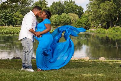 Tyesha and Thomas Maternity