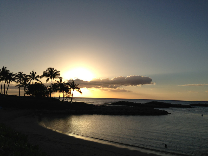Calista Connors '17: Sunset in Oahu, Hawaii
