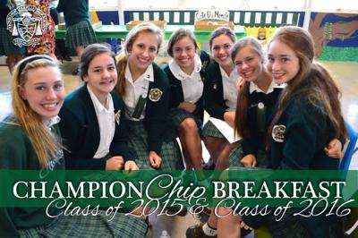 ChampionChip Breakfast - Class of 2015 & Class of 2016