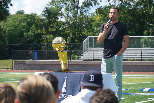 NBA Champion Pat Connaughton '11 Returns to the Prep