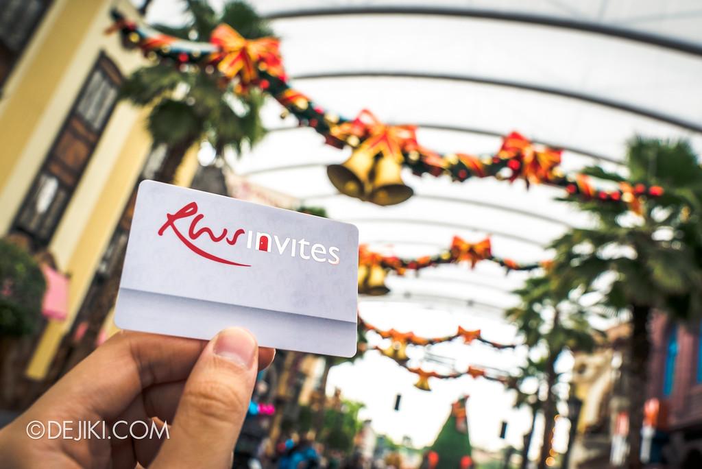 Resorts World Sentosa - RWS Invites membership