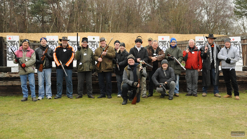 Shooting at Bisley, 29 Jan 2012  - click caption to view gallery