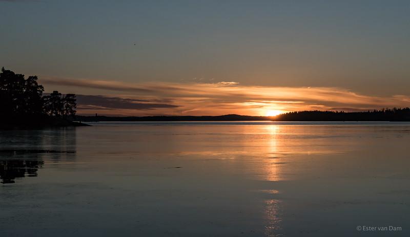 Sunset Saaroniemi