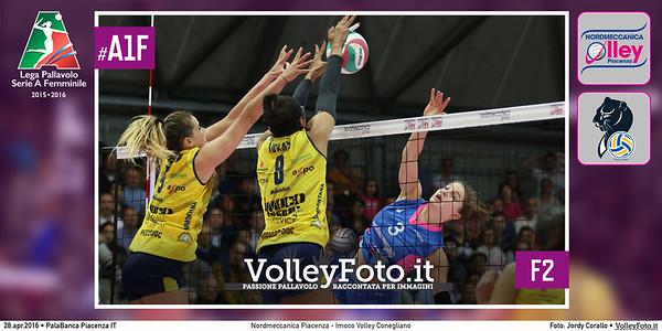 Nordmeccanica Piacenza - Imoco Volley Conegliano   F2 #Finale #MGSVolleyCup #A1F