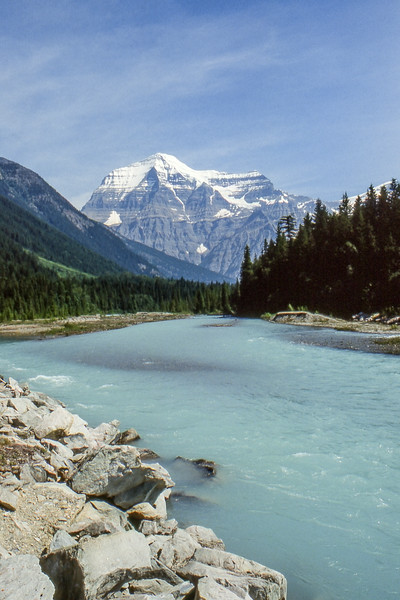 Mt. Robson - British Columbia, Canada - Summer 1990