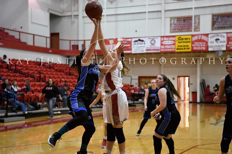 12/08/2017 Letcher County Girls Basketball @ Belfry