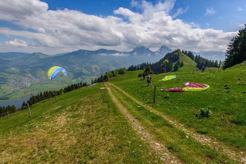Paragliding school I