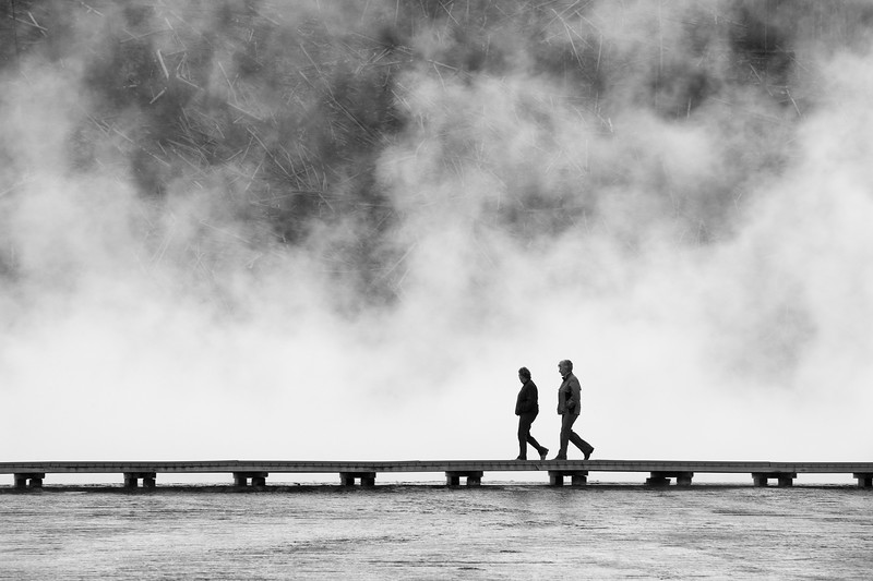 Visitors, Grand Prismatic Spring