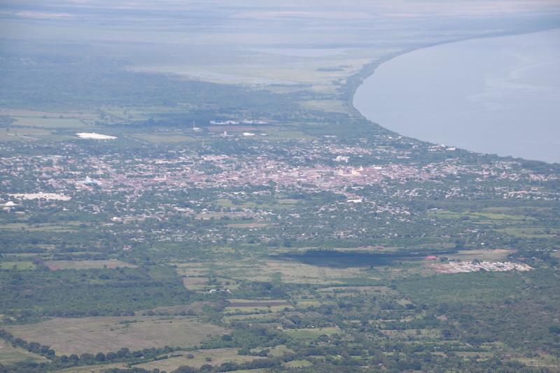 City of Grenada from Mombacho volcano