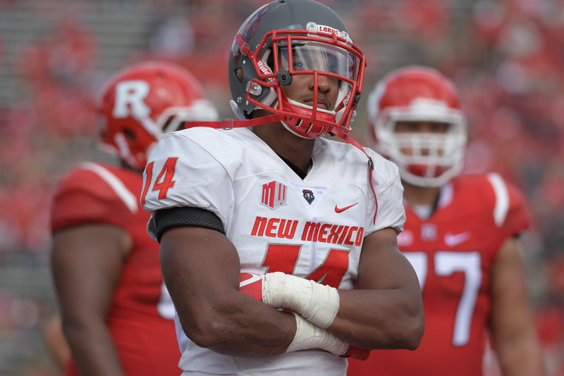 NCAA Football 2016- New Mexico Visits Rutgers 09/17/2016