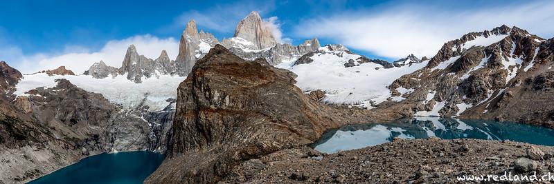 Chile-Argentinien Patagonien-Feuerland