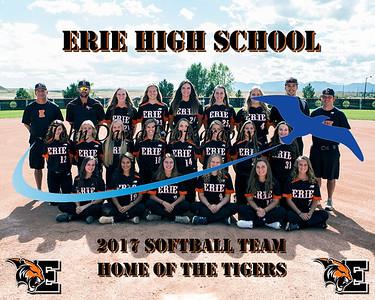 2017 EHS Softball Team Pics