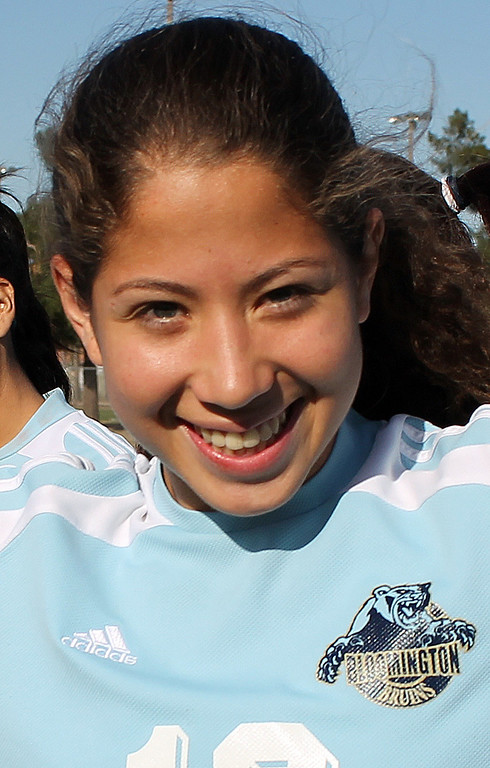 . Julissa Magana of Bloomington High School has been named to The Sun\'s All-Valley Girl\'s soccer team. Courtesy photo.