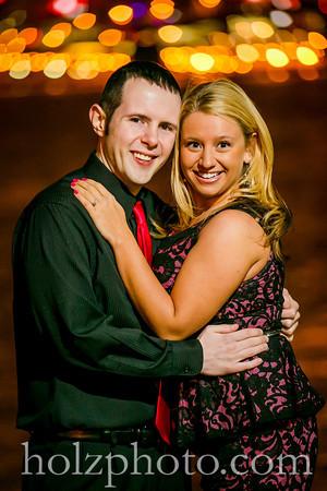 Heather & Phil Color Engagement Photos