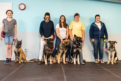 Canine 101 Graduation