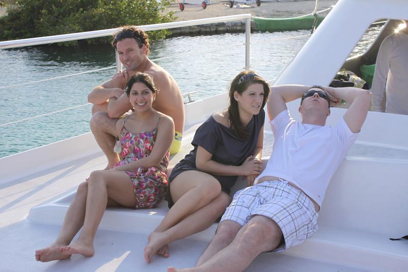 James, Semi, Amanda and Blake