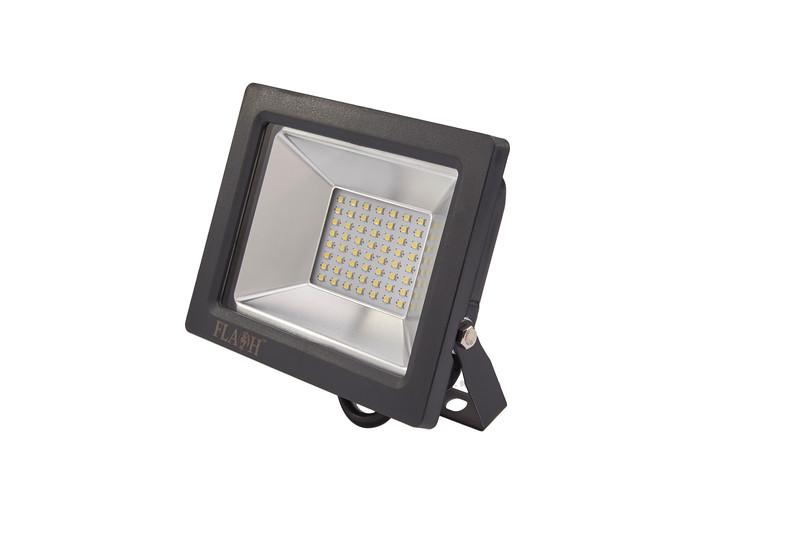 FLASH High Power SMD LED Slim Floodlight 2300lm 30W Black