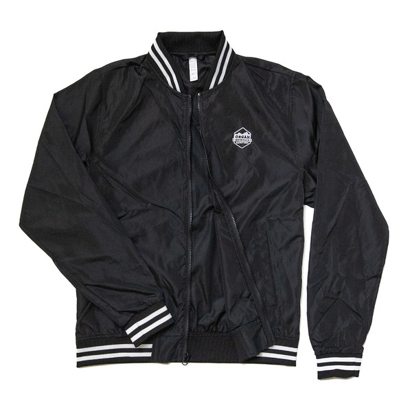 Organ Mountain Outfitters - Outdoor Apparel - Outerwear - Classic Lightweight Bomber Jacket - Black White Stripe.jpg