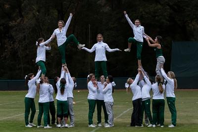 Cheerleaders Practice November 14, 2019