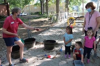 St. Stephens Day School garden planting