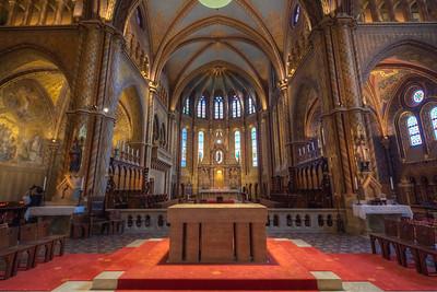 (1) Matyas Church Budapest (inside)