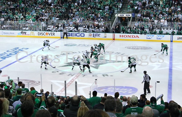Stars vs Wild Playoffs Game 1