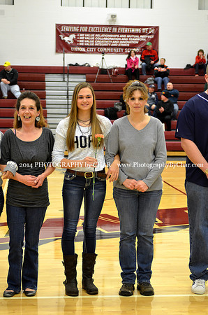 Union City Competitive Cheer Parents Night 2-18-2014