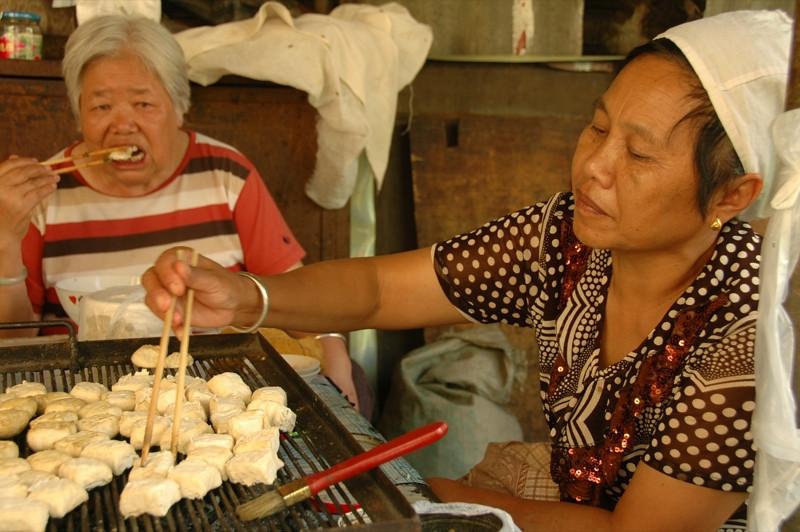 Yuanyang Grilled Tofu - Yunnan, China