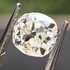 0.94ct Antique Cushion Cut Diamond GIA K Sl1 15