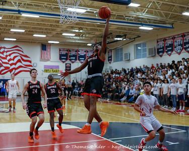 Boys Varsity Basketball v Edison 2/25/20