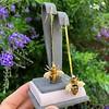 Vintage Bee Conversion Earrings 29