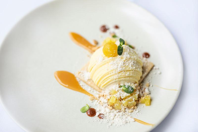 Honey White Chocolate Mousse