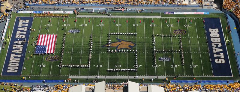 Montana State University Aerials - Bobcat Stadium