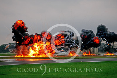 ATTACK!: Pictures of Simulated Air-to-Ground Attacks and Explosions; Graphic Evidence of Military Aircraft Firepower