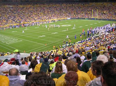 Packers vs. Seahawks 2007