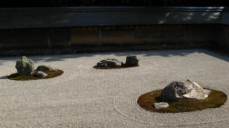 Japan's most famous rock garden