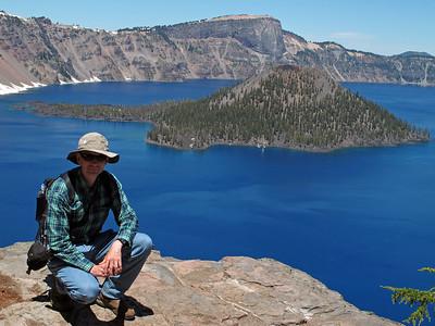 17 Crater Lake, June 22