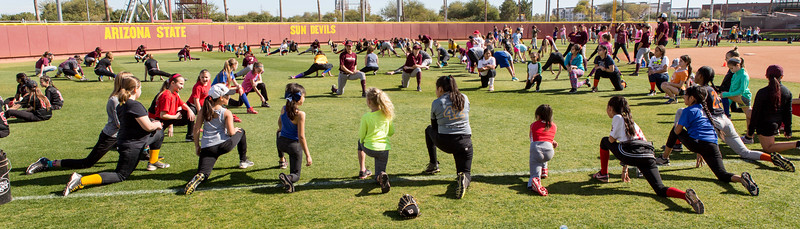 ASU Softball Clinic and Demo