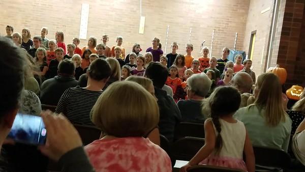 Olivia's School Concert