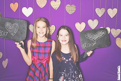 2-10-17 Atlanta Vickery Creek Elementary School PhotoBooth - Valentine's Dance - RobotBooth