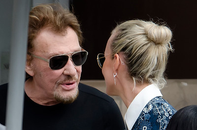 Johnny Hallyday, Laeticia  and Happiness