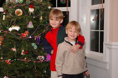 Decorating the Christmas Tree - 2005