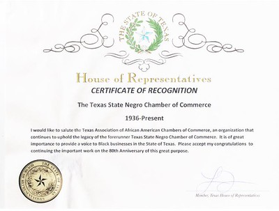 Texas State Negro Chamber of Commerce / TAAACC 2016
