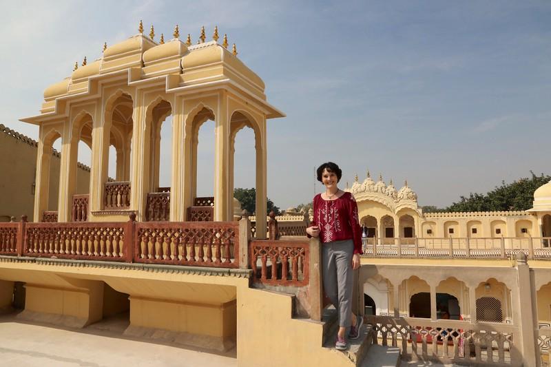 I had so much fun exploring here! - Hawa Mahal, Jaipur