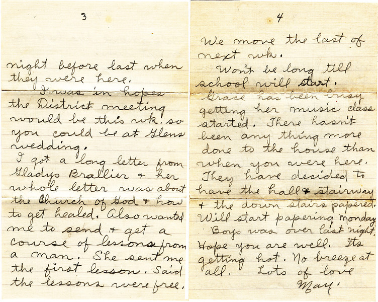 May Griffin Letter