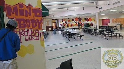 Health and Wellness Mural in Progress(SEB)