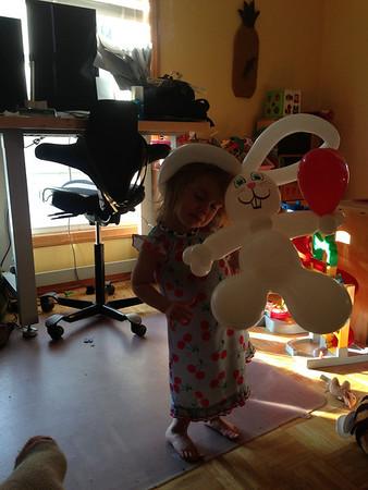 Bunny Ballon Head