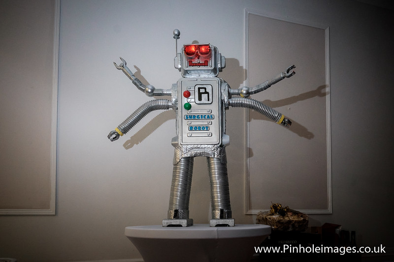 Rory the Robot Charity Ball at Bank House Hotel