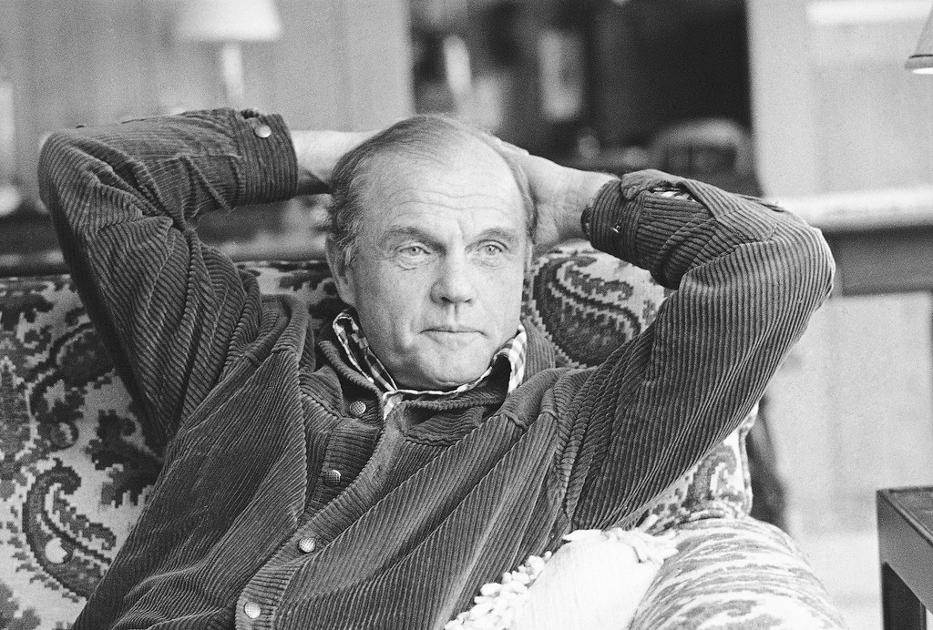 . John Glenn, beginning a second bid for the Democratic Senate nomination, reflects on the past twelve years in his new Columbus, Ohio, home, February 8, 1974. Now age 52, and 10 pounds heavier than when he orbited the earth on Feb. 20, 1962, Glenn still manages to jog most every day. (AP Photo/Steve Pyle)