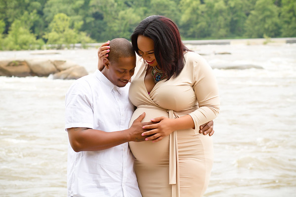 Precious and Geary Maternity Session